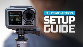 DJI Osmo Action Setup Guide