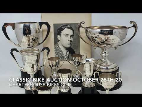 What is in the motorcycle auction on October 28th 2020