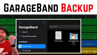 How to BACKUP GarageBand files on iPad/iPhone