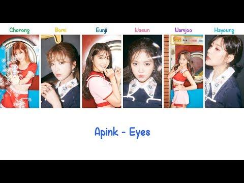 Eyes Apink Lyrics [ENG+ROM]
