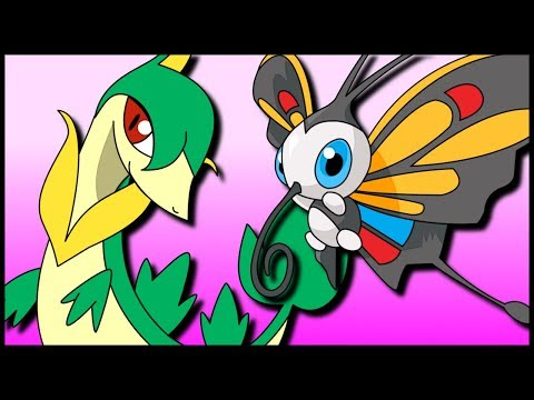 Contrary Servine & Quiver Dance Beautifly [Pokémon Sun & Moon Gladiators]