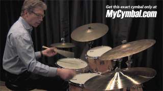 "Zildjian 22"" A Village Vanguard Prototype Swish Knocker - Played by John Riley (VP22-1050710H)"