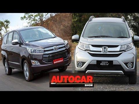 First Drive & Review : Toyota Innova Crysta & Honda BR-V | Full Episode