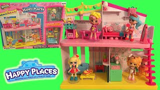 Shopkins Happy Places Happy Home With Exclusives Review + Decorating With All 3 Welcome Packs