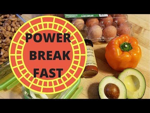power-breakfast-eggs-bell-pepper-onion-pinto-beans-avocado-vegetarian---alkaline---no-recipe!