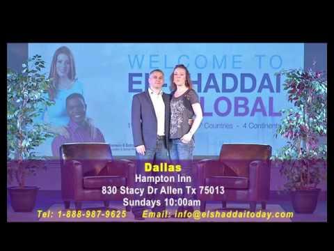 El-Shaddai Houston Church Invitation