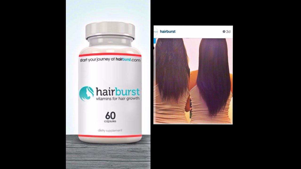 Hair Burst Hair supplement - YouTube