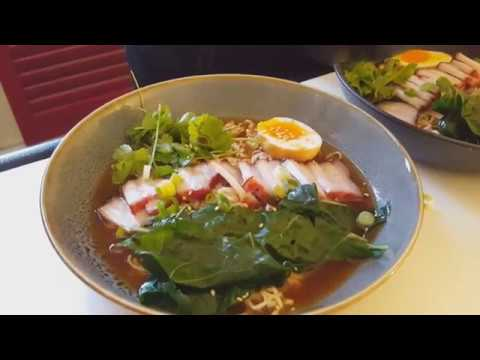 Char Siu Pork Ramen Noodles
