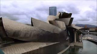 видео Музей Гуггенхайма в Бильбао