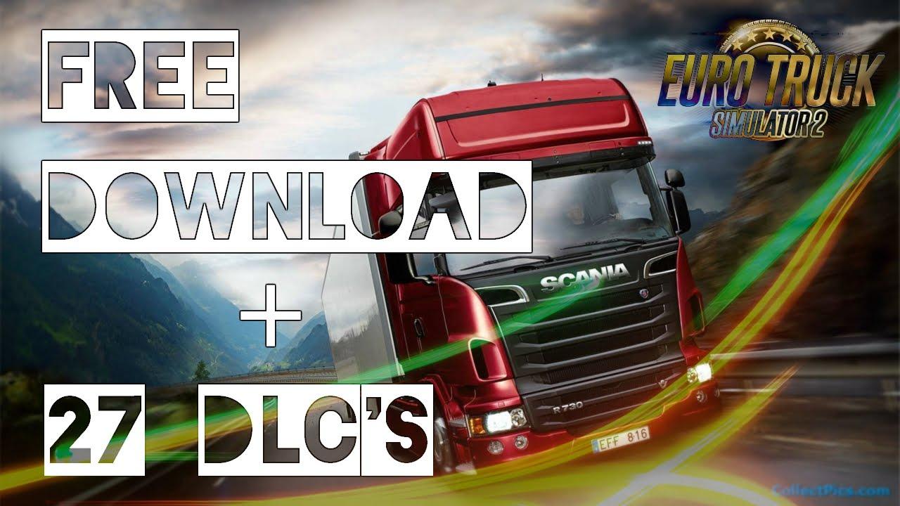 euro truck simulator 2 free download 27 dlc 39 s youtube. Black Bedroom Furniture Sets. Home Design Ideas