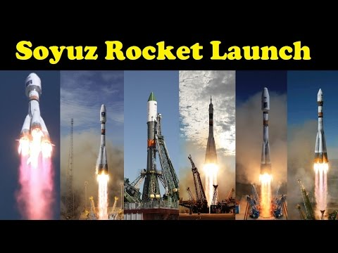 Soyuz Rocket Launch Compilation (2016) 🚀 | Go To Space