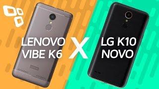 Comparativo: Lenovo Vibe K6 vs. LG K10 Novo  - TecMundo