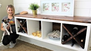 IKEA HACK: The Floating Credenza