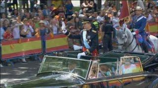 Cinco años de Felipe VI