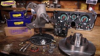 Speedway Tech Talk - '63 -'70 Chevy Pickup Brake, Spindle and Instrument Upgrades