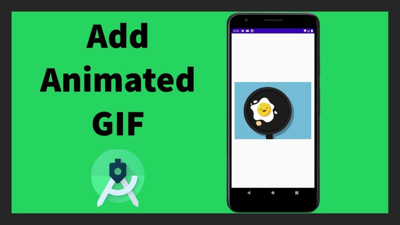 Show GIF inside your App   Android Studio