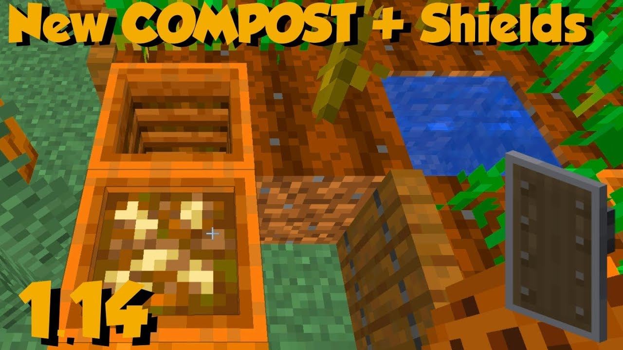 A New Block Was Just Added To Minecraft 1 14 Compost You