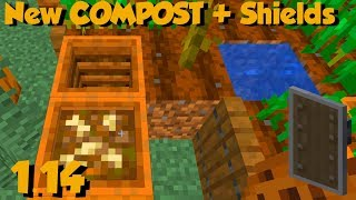 Baixar A New Block Was Just Added To Minecraft 1.14... Compost???