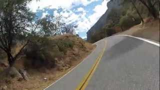 Beetle Rider Adventure 2012 - CA 190 E through Sequoia National Forest