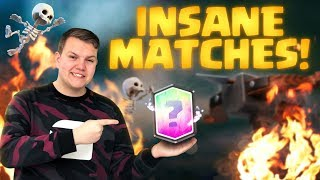 INSANE MATCHES! 2.9 X-Bow Cycle LIVE Grand Challenge Gameplay - Clash Royale