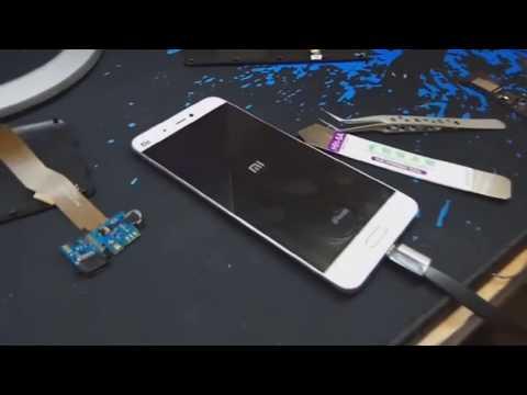 Обзор и ремонт на мобильный телефон Сиоми МИ5  ( Xiomi Mi5) 32qb /3 Gb Ram.Замена зарядного модуля .