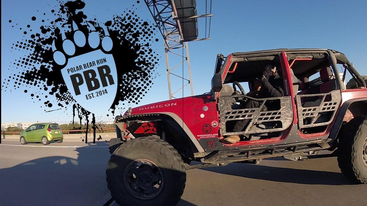 Ajp Polar Bear Run 2018 Backcountry Jeeps Run During Austin Jeep