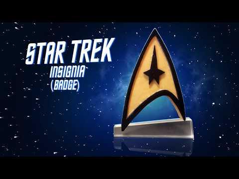 Star Trek Diy Badge Resin Props