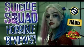 SUICIDE SQUAD 33% ON ROTTEN TOMATOES?! WORST MOVIE EVER?!