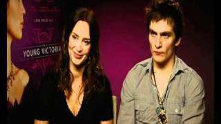 Emily Blunt and Rupert Friend interviewed about The Young Victoria