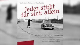 Hörbuch Jeder Stirbt Für Sich Allein ein Meisterwerk von Hans Fallada