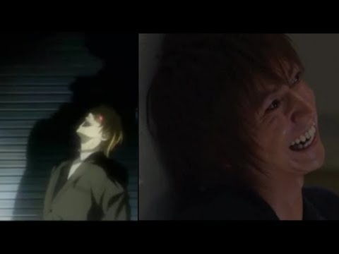 Death Note - Lights Evil Laugh - Anime Vs Movie poster