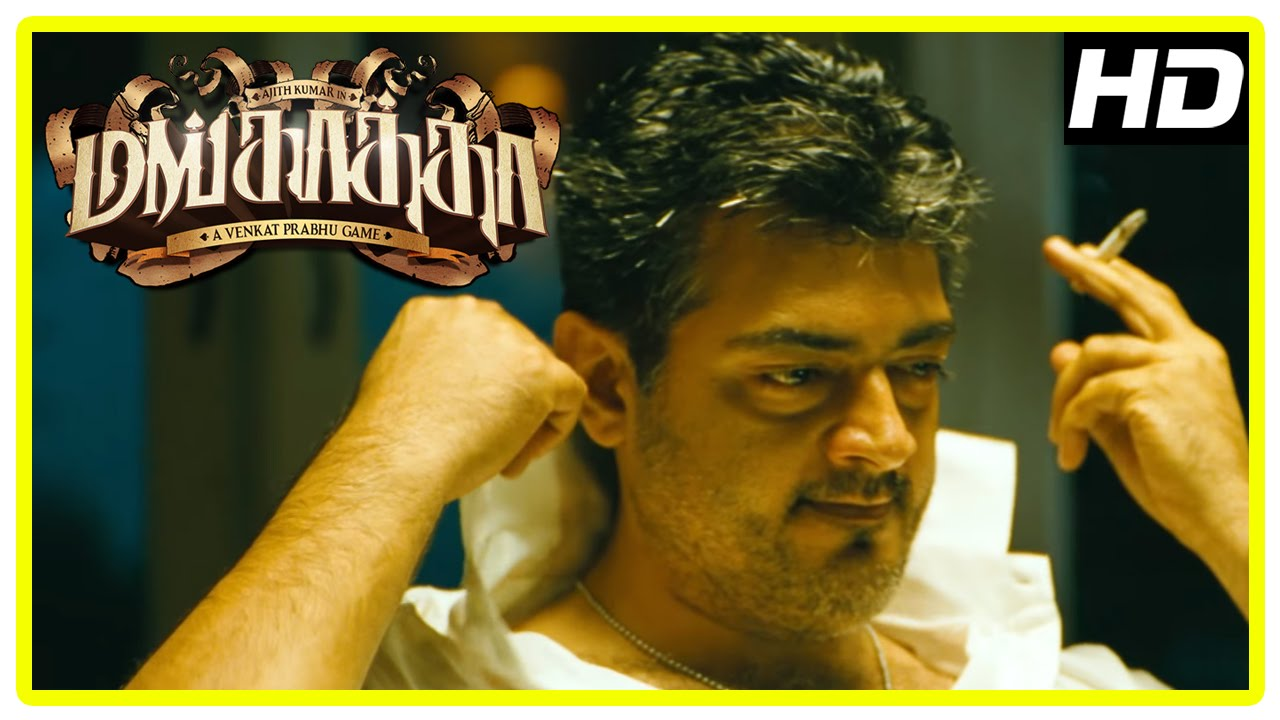 Download Mankatha Tamil Movie | Ajith Plans to Premgi and his friends for money | Vaibhav | Mahat