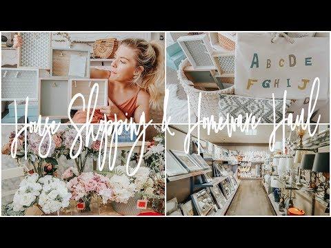NEW HOUSE SHOPPING & HOMEWARE HAUL | KATEMURNANE AD
