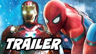 Spider Man Homecoming Trailer 3 Breakdown - Iron Man Avengers Heist