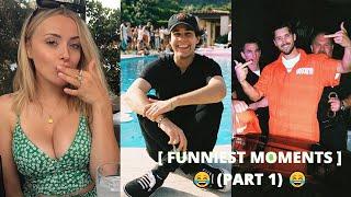 Vlog Squad FUNNIEST MOMENTS [PART 1] (w/ David, Jeff, Corinna, & more)   bruhh