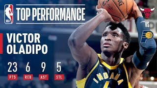 Victor Oladipo Shows Out In His Return To Action vs Chicago
