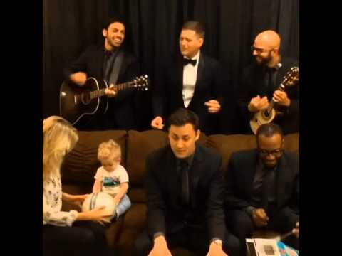 Before the concert of Michael Buble in Ottawa(Canada)-02.07.2014