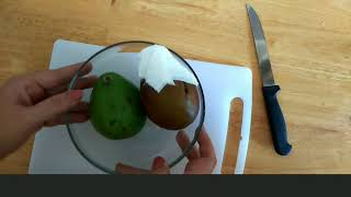 How to ripen aฑ avocado completely only with tissue.