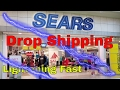 Drop Shipping Experiment using Sears (Retail Arbitrage) SUPER FAST SHIPPING