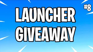 130 Launcher Giveaway Live (Fortnite Save The World)