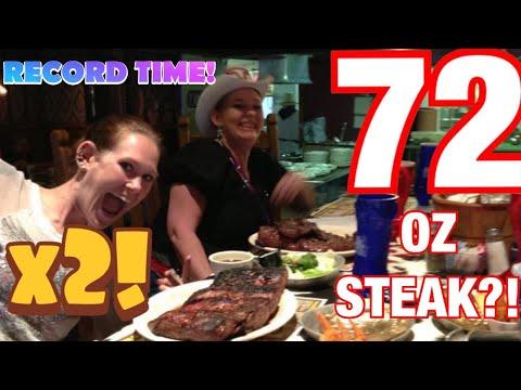 Molly Schuyler The Big Texan 72 oz steak challenge x 2