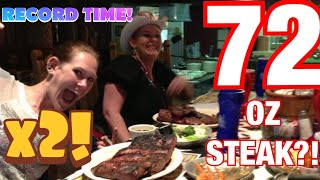 Repeat youtube video Molly Schuyler vs The Big Texan 72 oz steak challenge x 2