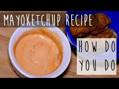 How To Make Mayo-Ketchup || Fancy Sauce Recipe