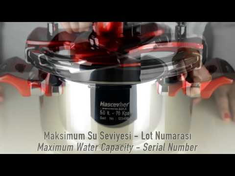 Hascevher Galaxy Matic Pressure Cooker