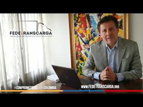 fedetranscarga. Dr Arnulfo Cuervo, vicepresidente de Fedetranscarga