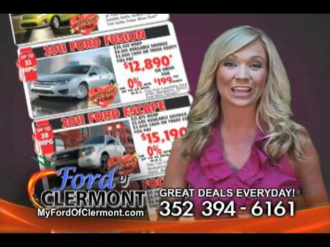 sweetheart deals at ford of clermont youtube. Black Bedroom Furniture Sets. Home Design Ideas
