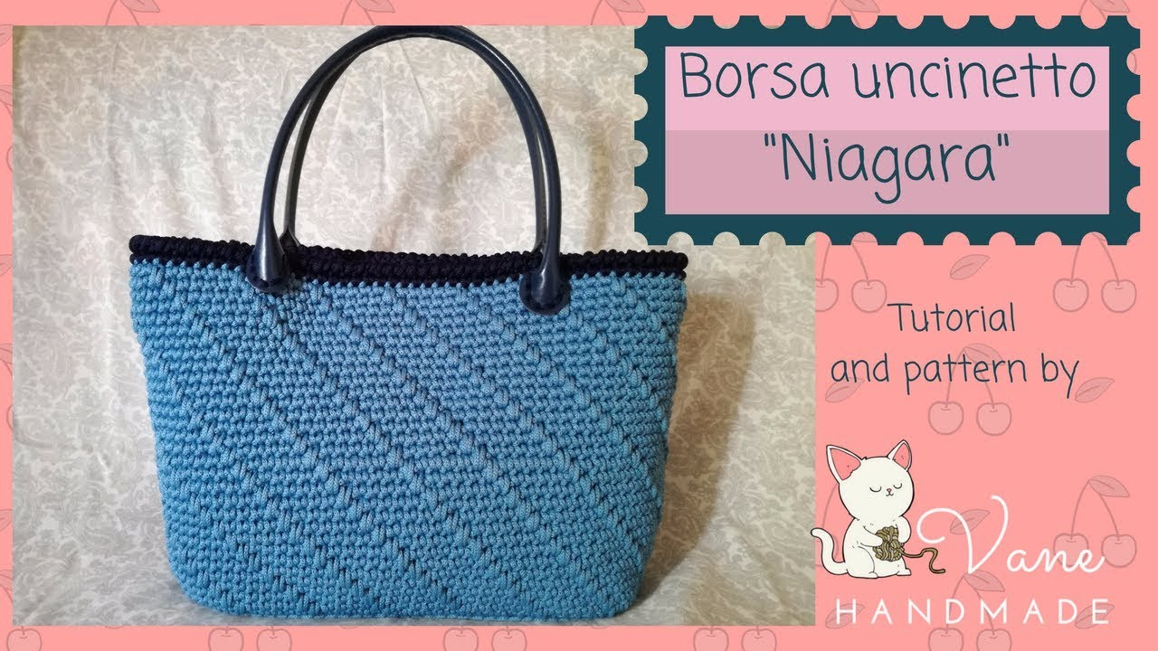 Borsa A Uncinetto Niagara Tutorial And Pattern By Vane Handmade