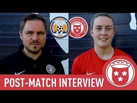 Kilmarnock 1-4 Hamilton - Robert Watson & Carys Hopkins Post-Match Interview