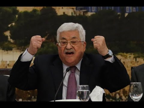 """BREAKING: Abbas Exits Peace Process says to U.S. , """"Damn Your Money!"""" as US withholds $65 Million..."""
