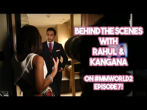 UNSEEN FOOTAGE! Behind the scenes with Rahul Khanna and Kangana Ranaut!